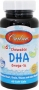 兒童DHA軟糖 Chewable DHA for KIDS, Carlson, 100mg, 60 Softgels