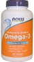 奧米加3魚油 Omega-3 from 1000 mg of Fish Oil Concentrate, Now Foods, 200 Softgels