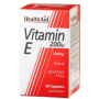維他命E Vitamin E, Health Aid, 200IU, 60 Vegicaps