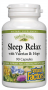 輕鬆入睡配方 Sleep Relax Formula, Natural Factors, 90 Capsules