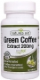 青咖啡提純(無咖啡因) Green Coffee Extract, Natures Aid, 200 mg, 60 tablets